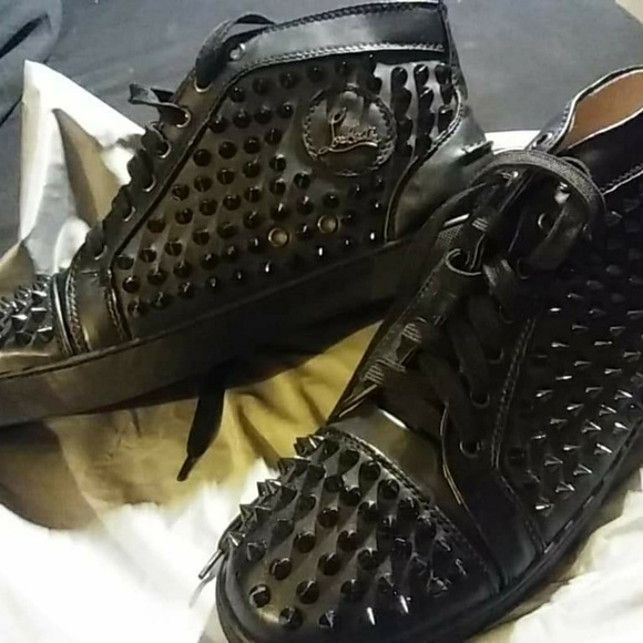 Shoes | Louis Vuitton Spiked Sneakers